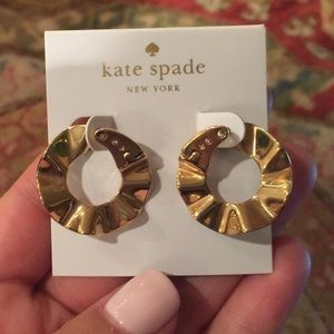 NWT,Kate Spade New York Frilled To Pieces Earrings